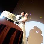 横浜ベイシェラトン ホテル&タワーズ:会場名の『日輪』にも、運命的な縁を感じるパーティ。シーンを彩る光の演出も星空のようにロマンチック