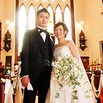 ST. MARGARET WEDDING(セント・マーガレット ウエディング):ステンドグラスが輝く大聖堂は、理想にぴったり!親身な対応や美食も、心に響くおもてなしになると確信