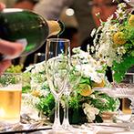 ST. MARGARET WEDDING(セント・マーガレット ウエディング):3種類のアミューズを振る舞うアペティスタイルなど、ゲストから「美味しい」の声が飛び交う美食パーティ