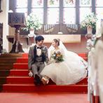 ST. MARGARET WEDDING(セント・マーガレット ウエディング):英国の歴史を受け継いだ、大聖堂のステンドグラスにひとめぼれ。正統派&カジュアルの好バランスな結婚式