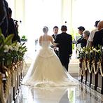 アメイジンググレイス:赤城山や利根川を望む、壮麗なチャペルに感激。明るいプランナーと一緒に「結婚式を作り上げたい」と即決!