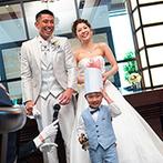 アルカンシエル横浜 luxe mariage:キッズゲストの一声で、おもてなしがスタート。豪華な食材を使った料理やデザートビュッフェも大好評