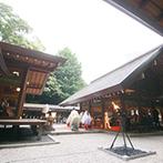 乃木神社・乃木會館:豊かな自然に囲まれた、歴史ある神社で叶える本格的な神前式。地下鉄乃木坂駅徒歩1分のアクセスも魅力的