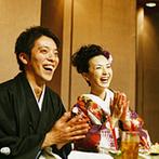目黒雅叙園(ホテル雅叙園東京):大人数のゲストも飽きさせない!スタッフの提案で会話が弾む楽しいパーティで和やかな時間を過ごせた!