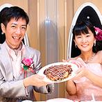 京王プラザホテル八王子:地元愛が生んだオリジナルの箸休め。福島のご当地グルメ・浪江町の焼きそばがベースの、広島風お好み焼き!
