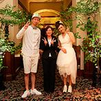 ホテル ザ・マンハッタン:マタニティだった新婦を細やかな心遣いで支えてくれたスタッフ。プランナーのプロ目線の提案が嬉しかった