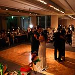 west53rd日本閣(ウエスト フィフティサード):想いを込めて歌いあげるアカペラの歌や、家族から始まるダンスパーティ!たくさんの幸せをゲストと共有した