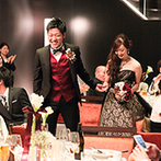 TAKASAKI MONOLITH(高崎モノリス):純白から大人の黒に【変化】する演出で全員を魅了。料理やデザートにもデザイン性の高さ&美味しさが光った