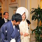 Royal Garden Palace 八王子日本閣:写真を見た時から新婦の祖母が絶賛していた神殿での神前式。友人にも「珍しくてよかった」と喜ばれた