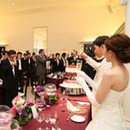 アーセンティア迎賓館 高崎:友人に日頃の感謝を込めてケーキバイト!味や見た目、香りなど五感を刺激する美味しい料理に笑顔が広がった