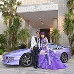 コットンハーバークラブ 横浜:愛車をウエルカムカーとして飾れる、貸切の邸宅。親身なスタッフと一緒に、横浜の夜景を望むパーティを決意