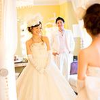ホテル阪急インターナショナル:ふたりに温かく寄り添い、理想の一日へ導いてくれたスタッフ達。打ち合わせからドレス選びまで輝く思い出に