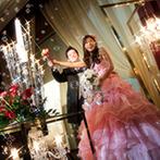 レンブラントホテル海老名:結婚式の感動が鮮やかに蘇る、プロの映像にゲストも感激!ロマンティックなシャボン玉の演出も喜ばれた