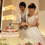 新横浜国際ホテル ウェディングマナーハウス:ウサギをモチーフにしたオリジナルケーキや、かわいい会場コーディネート。新婦のデザインセンスが光る!