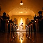南青山ル・アンジェ教会:夫婦になるという心構えを持って迎えた挙式に感動もひとしお。父とともに歩む新婦の姿に涙するゲストも