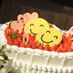 ヒルトン小田原リゾート&スパ:新婦が命名した2月2日はニコニコの日。美味しい料理と可愛いケーキを囲んだパーティは、まさに笑顔全開!