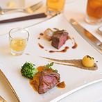 SCAPES THE SUITE(スケープス ザ スィート):メインの肉料理や地元産の三浦野菜など、食材にこだわった美食の数々は、味も彩りもホスピタリティも抜群