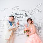 SCAPES THE SUITE(スケープス ザ スィート):結婚式の方向性に迷ったら、ドレスを決めてみては?コンセプトやテーマカラーなどが思い浮かぶかも