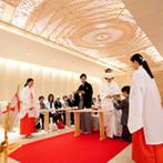 パレスホテル東京(PALACE HOTEL TOKYO):格式高いホテルで、日本人らしい神前式と上質な披露宴が叶う。スタッフの熱意に心動かされて、迷わず決定