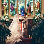 セントグレース ヴィラ:プライベート感溢れるゲストハウスで憧れの一日を。壮麗な大聖堂や上質なパーティ会場がふたりの心を掴んだ