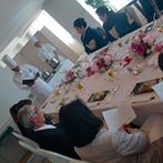 ホテルオークラ東京ベイ:ホテルの最上階にあるスィートルームで贅沢なパーティ。料理長とつくるオリジナルメニューもポイントに