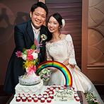 浦和ロイヤルパインズホテル:最上階のワンフロアを貸切にした贅沢なひと時。オリジナルのケーキやコース料理が「絶品!」と大好評