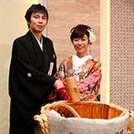 Roseun Charme/新横浜グレイスホテル:和洋両方のテイストが映える、アットホームな上質空間。縁起の良い鏡開きや、選りすぐりの日本料理も大好評