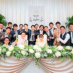 新横浜グレイスホテル/ロゼアン シャルム:新横浜駅徒歩1分とアクセス抜群!イメージしていたナチュラルな結婚式が叶う、素敵な空間と出会えた