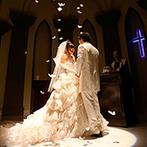 ベルヴィ ディアナ・マリエール:自由度の高いウエディング空間でテーマ性のある楽しい結婚式!チャペルの演出や開放的なガーデンもポイント