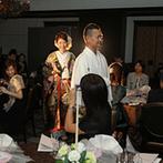 川越氷川神社・氷川会館:チャペル式を希望していた新婦の心をつかんだ神前式。和装もドレスも叶えられる会場の雰囲気もポイントに
