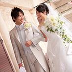 埼玉グランドホテル深谷:花嫁が一度は憧れる、厳かなチャペルや豊富な衣裳もこの会場の魅力。家族を巻き込んだ演出で絆を深めて