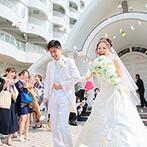 神戸ポートピアホテル:父の横で懐かしい思い出がよみがえり、涙があふれた。青空の下でゲスト参加型のアフターセレモニーも満喫