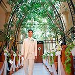 オリエンタルホテル 東京ベイ:南仏のチャペルをイメージした緑溢れる空間に心を奪われた。料理やスタッフなどゲストへのおもてなしも安心
