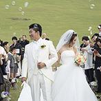 THE HILLTOP TERRACE NARA(ザ・ヒルトップテラス奈良):悠久の時を刻んできた若草山を背景に、ゲストとともに奈良の素晴らしさを堪能する結婚式を叶えたい