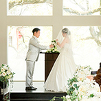 神戸迎賓館 旧西尾邸(兵庫県指定重要有形文化財):美しい自然と歴史ある建物が魅力のウエディング空間に心を奪われた。スタッフの親身な対応も決め手の一つに