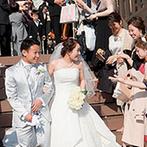 神戸迎賓館 旧西尾邸(兵庫県指定重要有形文化財):準備から当日までスタッフのサポートに安心。プランナーの提案力や専門スタッフの技術の高さも頼もしかった