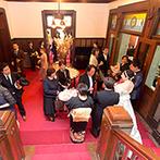 神戸迎賓館 旧西尾邸(兵庫県指定重要有形文化財):遠方在住でもプランナーがしっかりサポート。ふたりの「想い」を具体化する多彩なアイデアを提案してくれた