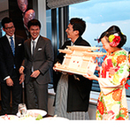 PENTHOUSE THE TOKYO by SKYHALL(ペントハウス ザ トウキョウ バイ スカイホール):プランナーをはじめ各セクションのスタッフがふたりの結婚式をサポート。BGMなど細かなこだわりも実現!