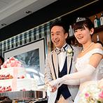 ヒルトン東京お台場:新婦が生まれた時のことを思い出してほしい。『桜』を感じるパーティ会場で、家族に感謝を伝えた