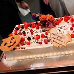 L'Alliance(ラリアンス):至福の料理&デザートとともに、記憶に残るパーティ。ウエディングケーキの演出もゲストに好評だった