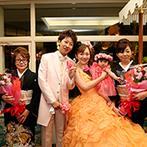 ロイヤルガーデンパレス 柏 日本閣:四季折々の美しい景色が広がる日本庭園で、2世代ウエディングが実現!ゲストに嬉しい好立地も魅力