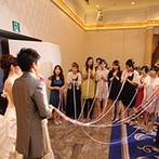 エスタシオン・デ・神戸:フロア貸切りの会場で、ゲストとの時間をとことん楽しむ!別室で開催した1.5次会で、パーティの続きを