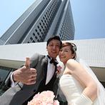 ANAクラウンプラザホテル神戸:神戸の絶景を望み、新神戸駅直結とアクセスの良いホテルでの結婚式。おもてなしや美味しい料理も安心できた