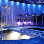 成田ビューホテル:ふたりの心をとらえたのは、雪と氷の世界を表現したチャペル。ゲストハウスさながらの空間で心踊る結婚式に