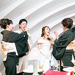 成田ビューホテル:開放感あふれるホテル最上階のバンケット。美しい景色、美味しい料理、家族の絆を感じる時間に感動の連続!