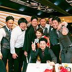 """成田ビューホテル:多くの友人に囲まれ、笑顔の絶えない時間を満喫!まさに""""ゲストと近い距離で楽しむパーティ""""が実現"""