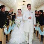 ホテルポートプラザちば:感謝の思いを素直に表現できる、カジュアルな結婚式を希望。予算の範囲内でふたりのこだわりを叶えてくれた
