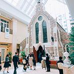 ホテルモントレ京都:全天候型のチャペル&ガーデンを備えたアンティークなホテル。プランナーや料理長の親身な対応も決め手に