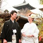 ザ ソウドウ ヒガシヤマ キョウト(THE SODOH HIGASHIYAMA KYOTO):有名な寺社仏閣に囲まれた東山のロケーションが魅力。和洋どちらも叶う空間で、景色を楽しむ結婚式に決定