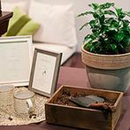 ザ ソウドウ ヒガシヤマ キョウト(THE SODOH HIGASHIYAMA KYOTO):「一緒に休もう」という花言葉を持つコーヒーの木をシンボルにしたセレモニーで、ゲストとの絆も結んだ